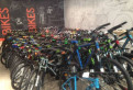 Новые велосипеды со склада на гарантии