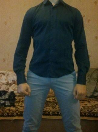 07022c699eba Мужская рубашка Zara, футболка tommy hilfiger underwear, Тихвин ...