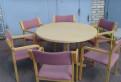 Стол 2 модели, со стульями, Финляндия