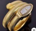 Часы змея цвет золото 585 (см фото)