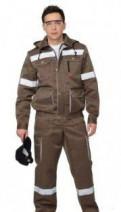 Рабочая одежда. Спецодежда, мужское пальто драповое с капюшоном, Никольское