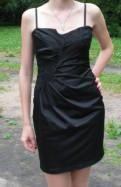Платья в горошек дешево, черное платье