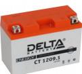 Мото Аккумулятор Delta CT1209. 1, тормозные диски на солярис брембо, Санкт-Петербург