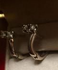 Серьги с бриллиантами 0.35ct