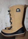 Зимние сапоги Sorel р.38 и 40, зимняя обувь женские сапоги