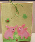 Свинки на сумочке
