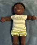 Мягкая кукла ikea икеа с одеждой