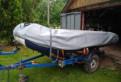 Лодка с мотором и прицепом, полный комплект, Кингисепп