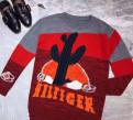 Одежда оптом от производителя от 5000 рублей без рядов, новый свитер Tom*y Hilf*ger