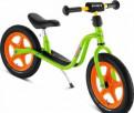 Беговел Puky LR 1L зеленый/оранжевый + доставка