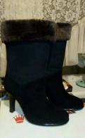 Сапоги замшевые, кроссовки adidas porsche design elsformotion чёр