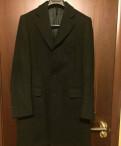 Пальто мужское итальянское Stefano Capaldi 50р, футболка щас спою, Санкт-Петербург