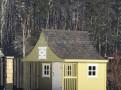 """Большой игровой домик из дерева """"Мальвина"""" 2 этажа"""