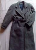 Стоник одежда мужская, зимнее пальто на шерстяном утеплителе