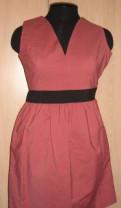 Платье коктельное Love Republic 46 размер, шоколадные платья футляр