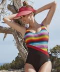 Фасоны платьев для полных из бархата, купальник Изабел Мора, мод Дисиерто 80613, Испания