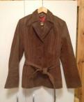 Куртка кожаная замшевая р-р EUR 40 bigel, дизайн магазина мужской одежды в стиле лофт