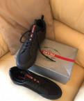 Новые кеды Prada мужские, мужская обувь под зауженные брюки