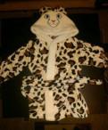 Банный детский халат