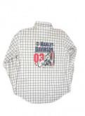Вязаный свитер с воротником хомут, рубашка длинный рукав Harley Davidson