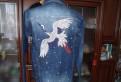 Ультрамодная новая джинсовая куртка Indigo р.48-50, платье двойка на выпускной