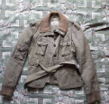 Куртка. only. хаки. б/у, одежда для мама и дочек
