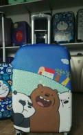 Чехол для чемодана Atma -crazy bears (m)