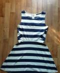 Сарафан Befree, платье с острым вырезом, Бугры