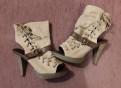 Босоножки / Туфли почти новые, туфли с красной подошвой подделка