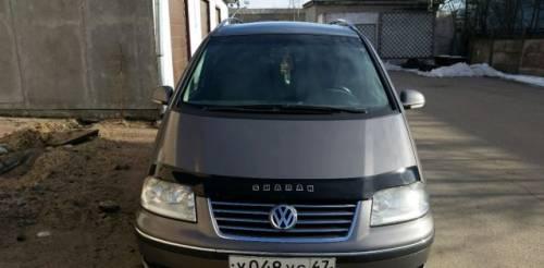 Volkswagen Sharan, 2008, подержанные ауди 100 в 4
