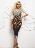 Модели летних платьев костюмов, новое стильное платье