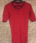 Купить летнюю одежду для полных женщин в интернет магазине, красное платье Fred Perry