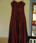 Синее платье с розовыми туфлями, бордовое платье из тафты с вышивкой стеклярусом