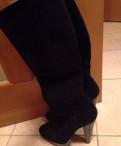 Магазин обувь шок, замшевые сапоги Nando Muzi