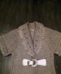 Одежда для молодого человека, вязаный жакет с коротким рукавом кофта 52/54
