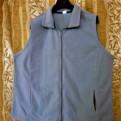 Домашнее платье для полных женщин купить, р.62 флисовый жилет, серый, Тосно