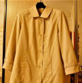 Новая куртка р.62-64, платье на лето однотонное