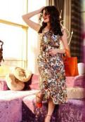 Ареал одежда из германии, очаровательный платье-сарафан