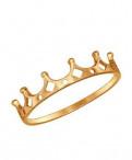 Кольцо золотое sokolov