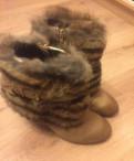 Полусапожки зима, обувь европейский размер