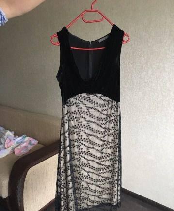 119aaef76f7be01 Вечернее платье BGN, платье ретро ниже колена, Луга, объявление с ...
