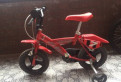Детский велосипед 4-х колесный