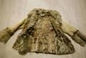 Дубленка натуральная, платье vay т.синий меланж/т. синий арт. 3319