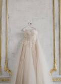 Пудровое свадебное платье со шлейфом, парки с мехом женские зимние милитари