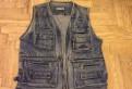 Жилетка джинсовая 50-52р Торг, куртка летняя мужская outventure