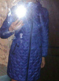Платье из бархата российских дизайнеров, пальто