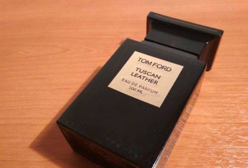 Tom Ford Tuscan Leather test 100ml