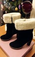 Ботинки замшевые, новые, Карло Пазолини, размер зимней обуви в год