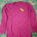 Новый свитер, не подошел размер, одежда для девушки 160