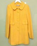 Detroit red wings одежда, пальто демисезонное р.46 желтое